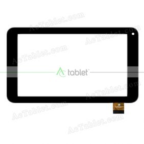 FPC-CY070172-01 Digitizer Glass Touch Screen Replacement for 7 Inch MID Tablet PC