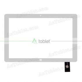 Digitizer Glass Touch Screen Replacement for Ployer MOMO10W Z3735F Quad Core 10.1 Inch Tablet PC