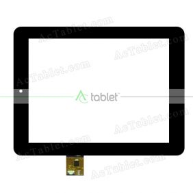F0630 XDY Digitizer Glass Touch Screen Replacement for 8 Inch MID Tablet PC