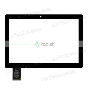 C167244A1-DRFPC342T-V1.0 Digitizer Glass Touch Screen Replacement for 10.1 Inch MID Tablet PC