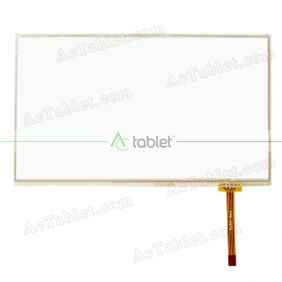 HFPC50-001 Digitizer Glass Touch Screen Replacement for 7 Inch MID Tablet PC