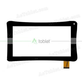 FPC-UP070323A1 Digitizer Glass Touch Screen Replacement for 7 Inch MID Tablet PC