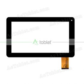 HOTATOUCH HC233142B1FPC V1 Digitizer Glass Touch Screen Replacement for 9 Inch MID Tablet PC