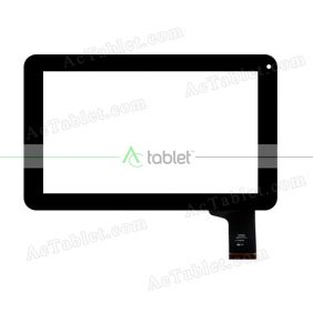 HOTATOUCH C142233A1 DRFPC114T-V2.0 Digitizer Glass Touch Screen Replacement for 9 Inch MID Tablet PC