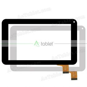 C2-HY0103A Digitizer Glass Touch Screen Replacement for 7 Inch MID Tablet PC