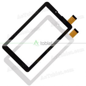 ZYD070-262-FPC V02 Digitizer Glass Touch Screen Replacement for 7 Inch MID Tablet PC