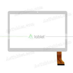 FK-97002 v2.0 Digitizer Glass Touch Screen Replacement for 9.6 Inch MID Tablet PC
