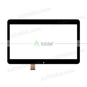 XC-PG1010-061-FPC-A0 HXS Digitizer Glass Touch Screen Replacement for 10.1 Inch MID Tablet PC
