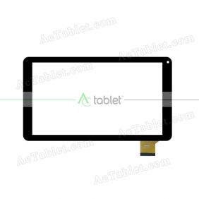 WJ819C-FPC V1.0 Digitizer Glass Touch Screen Replacement for 10.1 Inch MID Tablet PC