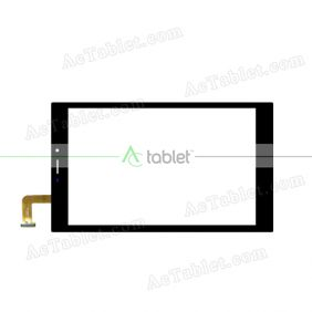 XCL-S80003A-FPC2.0 Digitizer Glass Touch Screen Replacement for 8 Inch MID Tablet PC