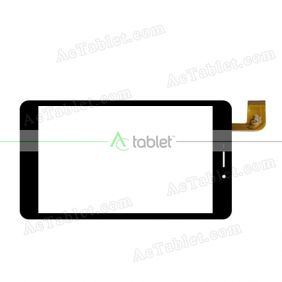 YTG-G70058-F2 V1.0 LLT Digitizer Glass Touch Screen Replacement for 7 Inch MID Tablet PC