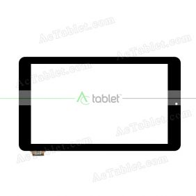 PB101A2513-R1 Digitizer Glass Touch Screen Replacement for 10.1 Inch MID Tablet PC