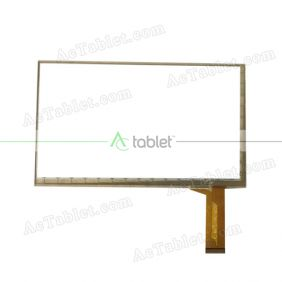 HSCTP-765-7-V0 HXS Digitizer Glass Touch Screen Replacement for 7 Inch MID Tablet PC