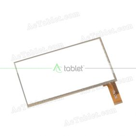 HSCTP-264-A Digitizer Glass Touch Screen Replacement for 7 Inch MID Tablet PC