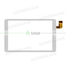 RS-TB801-V1.0 Digitizer Glass Touch Screen Replacement for 8 Inch MID Tablet PC