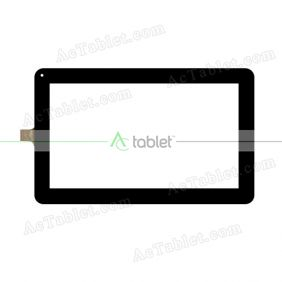 MGLCTP-101073-10930FPC Digitizer Glass Touch Screen Replacement for 10.1 Inch MID Tablet PC