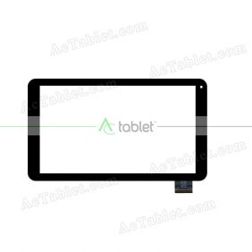 HC256145C1 FPC V1 Digitizer Glass Touch Screen Replacement for 10.1 Inch MID Tablet PC