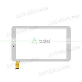 ZYD101-50V02 Digitizer Glass Touch Screen Replacement for 10.1 Inch MID Tablet PC