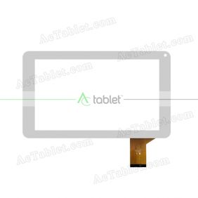 YJ145FPC-V0 Digitizer Glass Touch Screen Replacement for 9 Inch MID Tablet PC