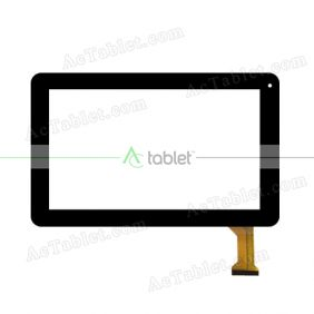 YJ394FPC-V0 Digitizer Glass Touch Screen Replacement for 9 Inch MID Tablet PC