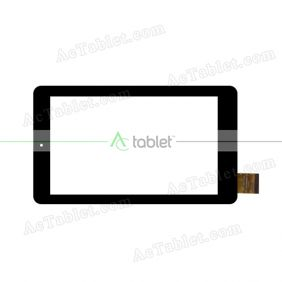 FPC-TP0700360(Q87)-00 Digitizer Glass Touch Screen Replacement for 7 Inch MID Tablet PC
