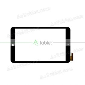 SG8116-FPC_V1-2 Digitizer Glass Touch Screen Replacement for 7.9 Inch MID Tablet PC
