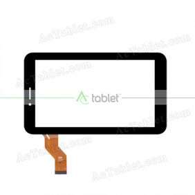 LLT-P29397A Digitizer Glass Touch Screen Replacement for 7 Inch MID Tablet PC