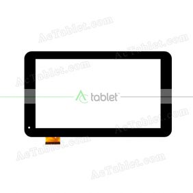 ZHC-0360A Digitizer Glass Touch Screen Replacement for 9 Inch MID Tablet PC