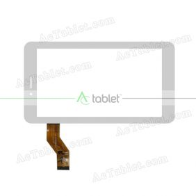 ZJ-70089A Digitizer Glass Touch Screen Replacement for 7 Inch MID Tablet PC