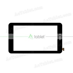 WJ697-FPC-V5.0 Digitizer Glass Touch Screen Replacement for 7 Inch MID Tablet PC