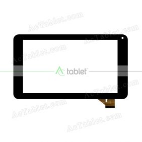 CK0123 Digitizer Glass Touch Screen Replacement for 7 Inch MID Tablet PC