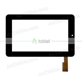 CTP070019_FPC_1.0 Digitizer Glass Touch Screen Replacement for 7 Inch MID Tablet PC