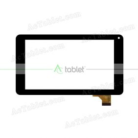 QCY-FPC-070045-V2 FHX Digitizer Glass Touch Screen Replacement for 7 Inch MID Tablet PC