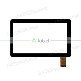 RJ610-V2.0 Digitizer Glass Touch Screen Replacement for 10.1 Inch MID Tablet PC