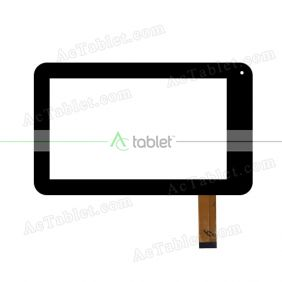 DXP2-0302-070A-FPC Digitizer Glass Touch Screen Replacement for 7 Inch MID Tablet PC