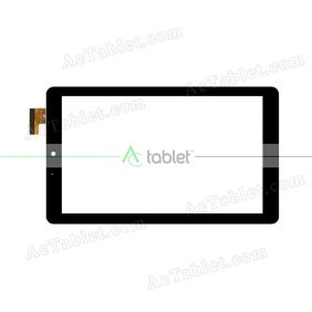 PB90A2697-R1 Digitizer Glass Touch Screen Replacement for 9 Inch MID Tablet PC
