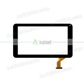 FX-C9.0-0081A-F-01 Digitizer Glass Touch Screen Replacement for 9 Inch MID Tablet PC