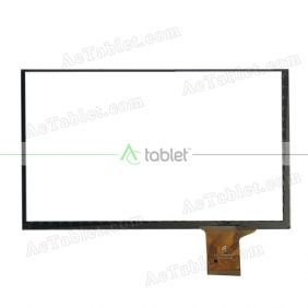 FPC-FC90S056-00 Digitizer Glass Touch Screen Replacement for 9 Inch MID Tablet PC