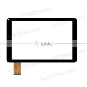 E-C10108-01 Digitizer Glass Touch Screen Replacement for 10.1 Inch MID Tablet PC