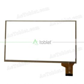 ZHC-0406A Digitizer Glass Touch Screen Replacement for 7 Inch MID Tablet PC