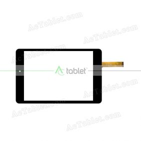 AT-C79103B 1408 KDX Digitizer Glass Touch Screen Replacement for 8 Inch MID Tablet PC