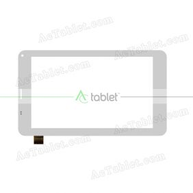 NJG070123ACG0B-V4 Digitizer Glass Touch Screen Replacement for 7 Inch MID Tablet PC