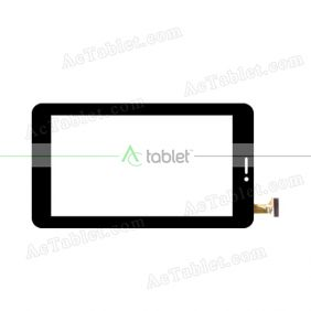 YLD-733-A-1 Digitizer Glass Touch Screen Replacement for 7 Inch MID Tablet PC