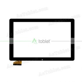 ZHC-0427A Digitizer Glass Touch Screen Replacement for 10.1 Inch MID Tablet PC