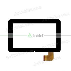 ZHC-150A Digitizer Glass Touch Screen Replacement for 7 Inch MID Tablet PC