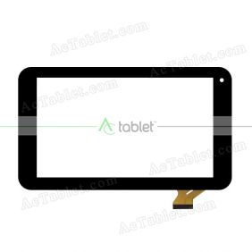 ZHC-249C Digitizer Glass Touch Screen Replacement for 7 Inch MID Tablet PC