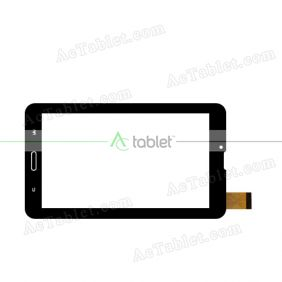 ZHC-0337A Digitizer Glass Touch Screen Replacement for 7 Inch MID Tablet PC