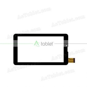 ZHC-0415A Digitizer Glass Touch Screen Replacement for 7 Inch MID Tablet PC