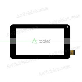 ZHC-0417A Digitizer Glass Touch Screen Replacement for 7 Inch MID Tablet PC