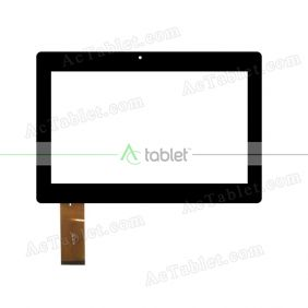 ZHC-0568B Digitizer Glass Touch Screen Replacement for 10.1 Inch MID Tablet PC